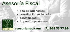 Asesoría Fiscal en Málaga para empresas y autónomos. Impuestos, contabilidades, inspecciones tributarias...