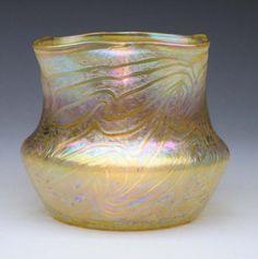 Kralik Yellow Silberband Vase