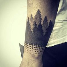Nature Arm Tattoo