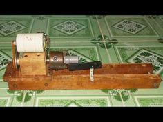 DIY Mini Lathe Tailstock Wood Metal Drill CNC Spindle Machine Free Energ...