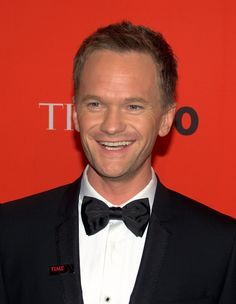 Neil Patrick Harris.  Rockin' the bow tie, and I don't mean the pasta.