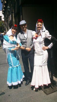 Chulas y chulo en Madrid