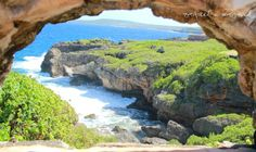 framing Saipan  One of Saipan's coastal beauties Kingfisher's Golf, Talafofo Saipan, Northern Mariana Islands