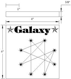 Galaxy Peg Game - The Woodcrafter Page© 2004