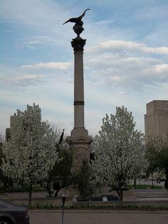 Civil War Monument, Peoria, IL    Photo:  M Forssander-Baird