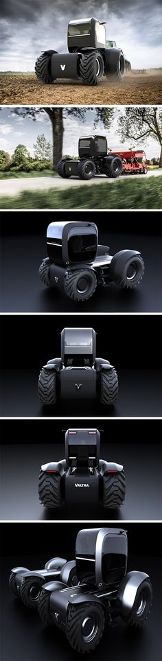 The Norss Tractor is an all-electric, no-frills rover designed with one thing in mind: to get the job done. Interestingly, its resulting simplicity and symmetry are expertly executed for a look that's undeniably artistic. At the heart of the design is a mobile driver's cab unit that is set on a track and capable of moving from one end to the other, providing the operator with enhanced views from the glass cockpit.