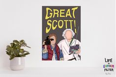 Who doesnt love Back to the Future. Loved drawing this piece. #bedroom #movie #vertical #moviequote #movieart #movieposters #movieprints #backtothefuture #movieminimalistart #greatscott #movieroomdecor #bedroomdecoratingideas #favoritequotes
