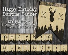INSTANT DOWNLOAD  the Little Hunter by 2LittleWildflowers on Etsy