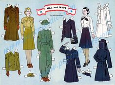 Paper Doll People of Cherry Road, Restored 40s Paper Doll. Prod. No. 1761