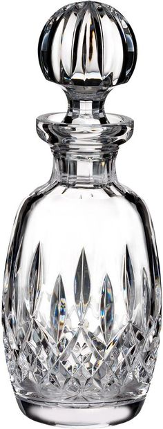 Waterford Lismore classic rounded decanter