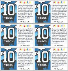 As Tontas Vão Ao Céu: Cartões - Regras de Fé (chaveiro) Nova Jerusalem, Logos, Christ, Key Chains, Ideas, Park, A Logo, Legos