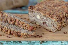 chleb bez mąki z płatkami Vegan wheat-free flour bread