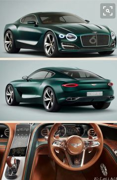 New Bentley EXP 10 Speed 6 sports car - Exotic and Luxury Cars - Bentley Exp 10, New Bentley, Bentley 2017, Luxury Sports Cars, Sport Cars, Bentley Motors, Bentley Continental Gt, Fancy Cars, Sexy Cars