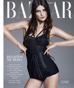 Isabeli Fontana Harpers Bazaar Espanha.
