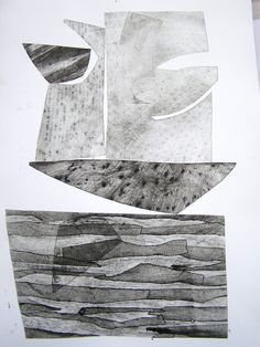 Thea Parrish: Box series, 2012. Dry point etching