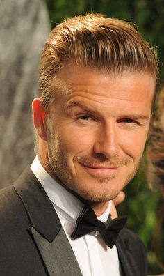 David Beckham at the Oscars: too hot to handle!