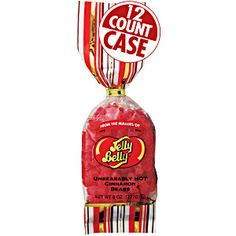 8 oz bags of Unbearably HOT Cinnamon Bears from Jelly Belly. Spicy gummi bears. Great candy for cinnamon lovers. Hot and Spicy