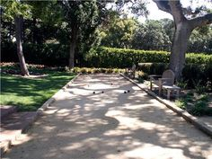 Bocce Ball Court- I'd like to put one where the sport court is...