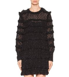 mytheresa.com - Adriana fil coupé mini dress - Thursday - Current week - New Arrivals - Luxury Fashion for Women / Designer clothing, shoes, bags