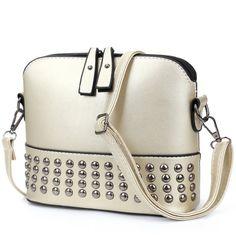 KGS Tas Casual/Formal Wanita Mini Studded Sling Bag 1009 - Emas - Int: One size