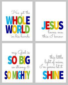 Sunday School Songs Bundle // Bold // INSTANT by AllOurDays, $16.00