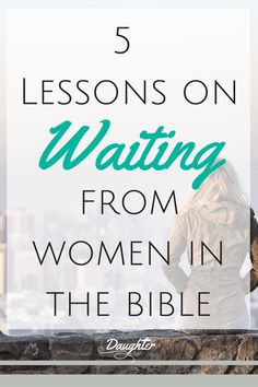 As Daughters of God we long to wait well yet we feel like we need to cover our negative emotions. Read about the pain and frustration five women of the Bible went through in their waiting season and what we can learn.