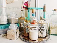 Collect sand from your vacations and store them in jars with pretty tags!  Love these!