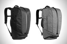 a00cc5878af Aer Duffel Pack 2 Gym Work Bag   HiConsumption Mode Minimaliste, Sacs À Dos