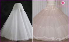 Enagua del vestido de novia con los anillos, y sin ellos, con un tren y un volantes, foto Petticoat For Wedding Dress, Vintage Lace Weddings, Nice Dresses, Formal Dresses, Dressmaking, Bridal Dresses, Wedding Styles, Ruffles, Tulle