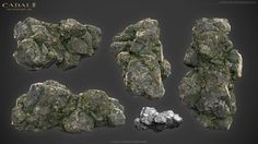 UVMAX - Environment Artist - 2013D Cabal2 Cliff & Rock