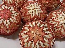 Dekorácie - vianočné ozdoby 48 -  8cm - 3185481