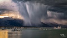 Before the storm at South Tufa by dirksteffen.