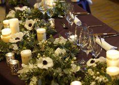 Wedding Groom, Wedding Table, Wedding Decorations, Table Decorations, Wedding Images, Bride, Green, Flowers, Weddings