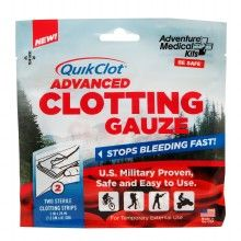 If I ever get another tattoo.  QuikClot Advanced Clotting Gauze 3 x 24 Inch