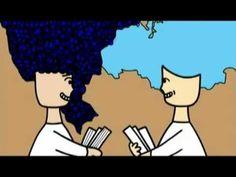 Imagine uma menina com cabelos de Brasil...  (Muito bom para aulas de Geografia, Ética e Cidadania, História, etc.)