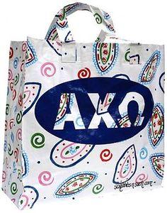 Alpha Chi Omega Waterproof Laundry Bag