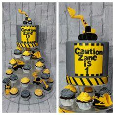 Zane's Construction Cake