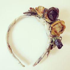 Biancaneve Hairband by AtelierCarlottaSadino