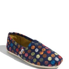 Toms r my weakness via shoes....