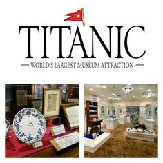 Titanic Museum Attraction in Branson!  A wonderful place to visit.  #Travel #Branson #vacation