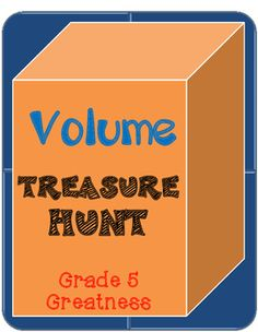 ✳ Volume is a huge part of the Measurement and Data standards for fifth grade!  This is a quick review of finding volume that my students love.  It takes my students (in groups of 3 working together) about 15 minutes to complete it.  Then we went over it for about 10 minutes so that's why I chose teaching duration of 30 minutes.There are 6 word problems and an answer key is included. ✳