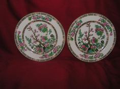 VINTAGE,WALL HANGING DECORATIVE PLATES BY MYOTT & SON MADE IN ENGLAND
