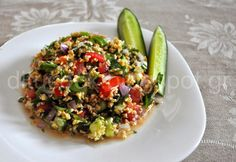 The TLC Diet - how to lower cholesterol and lose weight Salad Bar, Cobb Salad, Low Cholesterol, Greek Recipes, Fried Rice, Food Styling, Lose Weight, Appetizers, Healthy Recipes