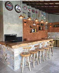 Decor, Kitchen Design Small, Diy Kitchen Lighting, Kitchen Decor, Modern Kitchen, Mini Bar, Diy Kitchen, Outdoor Kitchen, Kitchen Design