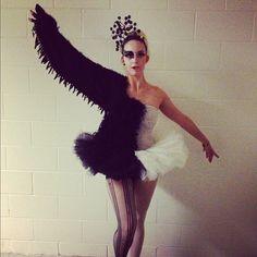 black swan handmade noir black white swan halloween costume this year