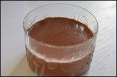 Suklaa-pannacotta