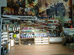 HobbyZone is a company from Poland that offers you useful items which enable you to improve your working conditions and keep the work space clean and tidy. Hobby Desk, Hobby Room, Man Cave Storage, Fly Tying Desk, Hobbies For Couples, Studio Organization, Home Office Setup, Woman Cave, Space Crafts