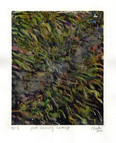 Le chemin à travers le marais édition limité n° e/a 1 (Arts numériques),  14,8x17,8x0,02 cm par richard raveen Chester Voici où je vis, il n'y a pas de…