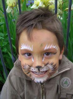 Kinderschminken - Löwe
