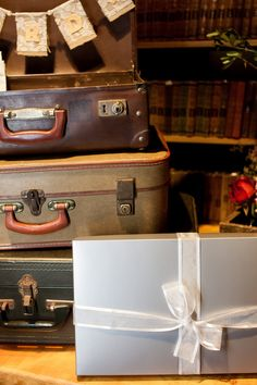 vintage cases  Photos by Hilary Cam Photography